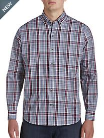 Cutter & Buck Non-Iron Dean Plaid Sport Shirt