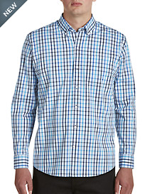 Cutter & Buck Clarence Plaid Stretch Sport Shirt