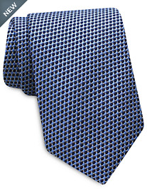 Keys & Lockwood Geo Neat Silk Tie