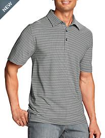 Cutter & Buck® CB DryTec™ UPF 50+ Division Stripe Polo