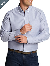 Cutter & Buck® Oxford Solid Stretch Sport Shirt