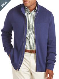 Tommy Hilfiger® Signature Zip-Front Cardigan