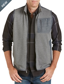 Calvin Klein Sport® Mixed-Media Quilted Piqué Vest