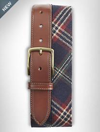 Brooks Brothers® Tartan Plaid Wool Belt
