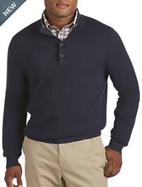 Brooks Brothers® Cotton/Cashmere Mockneck Sweater