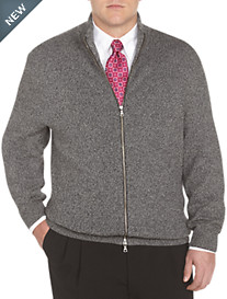 Rochester Marled Zip-Front Cardigan