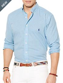 Polo Ralph Lauren® Checked Poplin Sport Shirt