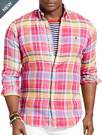 Polo Ralph Lauren® Plaid Linen Sport Shirt