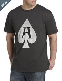 Jacks & Jokers Ace of Spades Graphic Tee