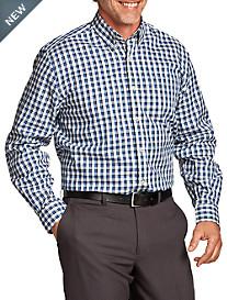 Cutter & Buck® Lake Plaid Poplin Sport Shirt
