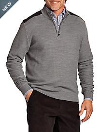 Cutter & Buck® Ellison Half-Zip Sweater