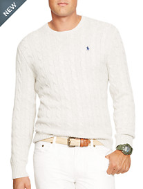 Polo Ralph Lauren® Cable-Knit Crewneck Sweater