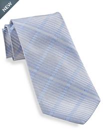 Calvin Klein® Ladder Grid Silk Tie