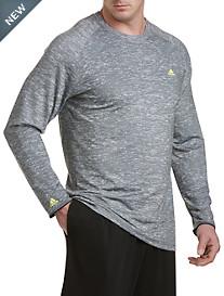 adidas® Golf climawarm™ Camo-Print Baselayer Crewneck