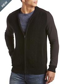 Calvin Klein Jeans® Full-Zip Cardigan
