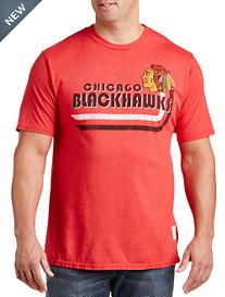 Retro Brand Blackhawks Triblend NHL Team Tee