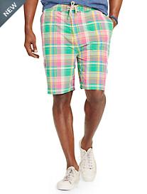 Polo Ralph Lauren® Plaid East Hampton Swim Trunks