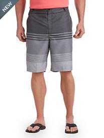 Rochester Ombré Stripe Board Shorts