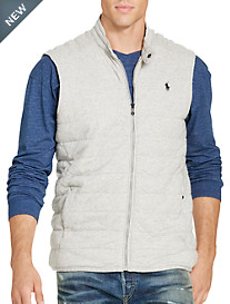 Polo Ralph Lauren® Quilted Jersey Knit Vest
