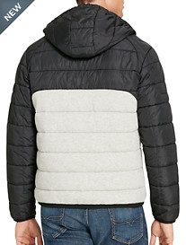 Polo Ralph Lauren® Quilted Hybrid Hooded Jacket