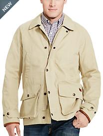 Polo Ralph Lauren® Santa Barbara Cotton-Blend Twill Coat