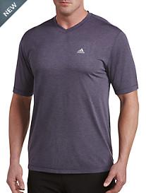 adidas® Golf V-Neck Performance Tee