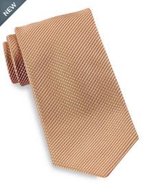 Brioni Mini Check Neat Silk Tie