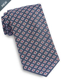 Brioni Diamond Medallion 2 Silk Tie