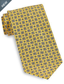Brioni Multi Medallion Silk Tie