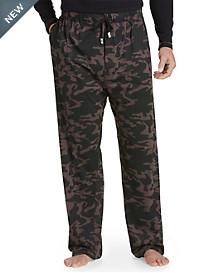 Vintage by Majestic® Camo Knit Jersey Pants