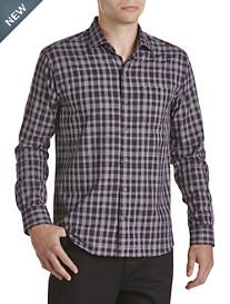 Cutter & Buck® Terrain Plaid Sport Shirt