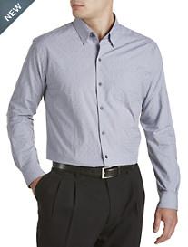 Cutter & Buck® Percy Jacquard Poplin Sport Shirt