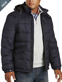 Nautica® Faux-Flannel Quilted Jacket