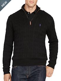Polo Ralph Lauren® Cable-Knit Half-Zip Sweater