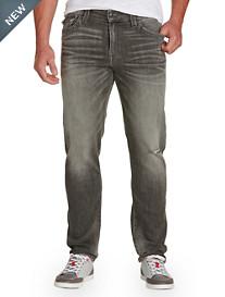 True Religion® Ricky Straight Jeans – Concrete Wash