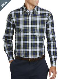 Brooks Brothers® Non-Iron Holiday Tartan Plaid Twill Sport Shirt