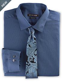 Michael Kors® Honeycomb Print Dress Shirt
