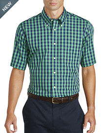 Brooks Brothers® Non-Iron Short-Sleeve Gingham Broadcloth Sport Shirt