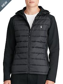 Polo Ralph Lauren® Quilted-Panel Full-Zip Hoodie