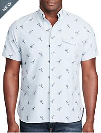 Polo Ralph Lauren® Lobster-Print Oxford Sport Shirt