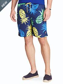 Polo Ralph Lauren® Captiva Pineapple-Print Swim Trunks