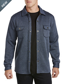 Tommy Bahama® Fireside Fleece-Lined Shirt Jacket
