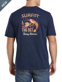 Tommy Bahama® Surfin' the 'Net Graphic Tee