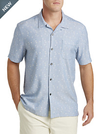 Tommy Bahama® Paquena Palms Silk Camp Shirt
