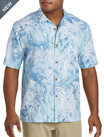 Tommy Bahama® Botanico Jungle Silk Camp Shirt