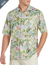 Tommy Bahama® Bloom Town Silk Sport Shirt