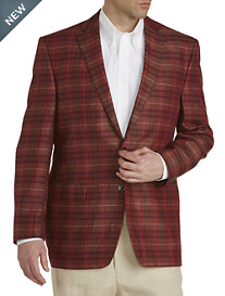 Ralph by Ralph Lauren Madras Linen Sport Coat