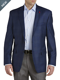 TailoRED Plaid Wool Sport Coat