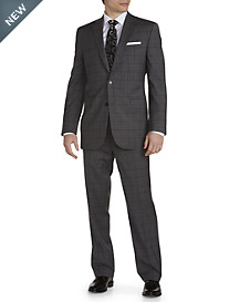 Jack Victor® Windowpane Wool Nested Suit