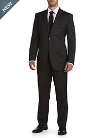 Jack Victor® Reflex Tonal Plaid Nested Suit